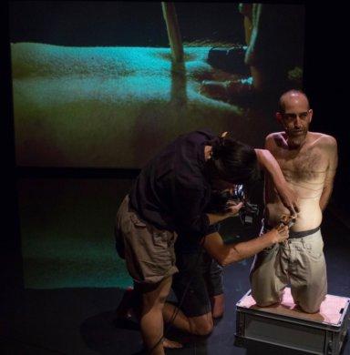 גוליבר - Gulliver, Rehearsal Aug 10th, photo by Ilya Kreines 00002ט